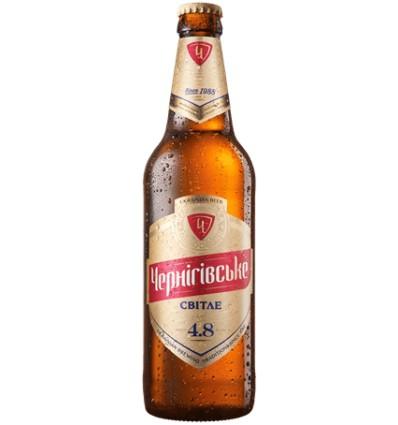Пиво Чернігівське світле 4,8% 0,5л